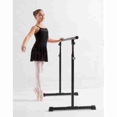 Lulli LUF485C Erin meisjes balletpakje met rokje zwart