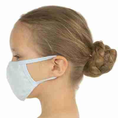 Wasbare mondkapje voor Kinderen Blauw