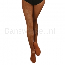 Capezio Professional Fishnet with Seam 3400 maillot voor dansers