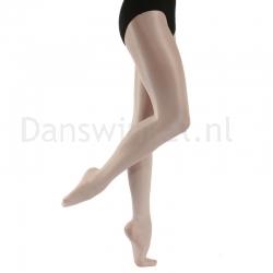 Capezio glanspanty voor dansers met voet 1808