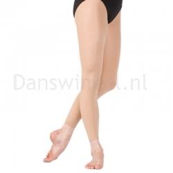 Capezio zachte danspanty zonder voet 1817