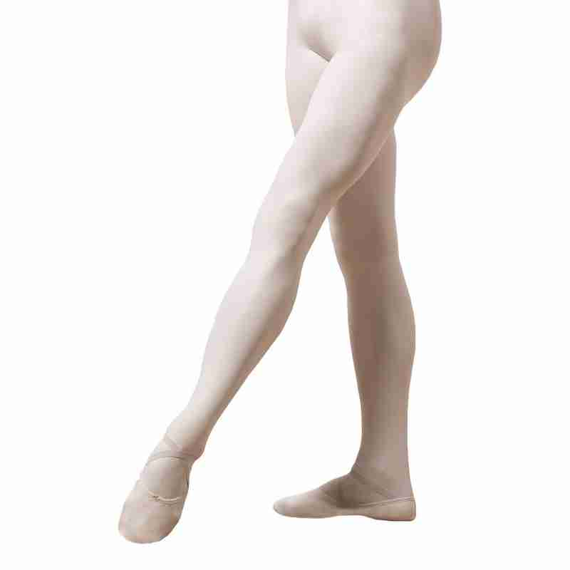 Capezio men's knit footed tights