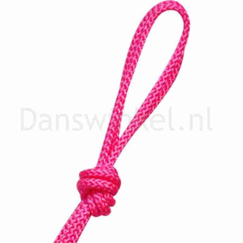 Pastorelli ITALIA  fluo roze touw voor ritmische gymnastiek