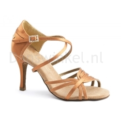 Portdance PD410-s Premium  Dark Tan Satin