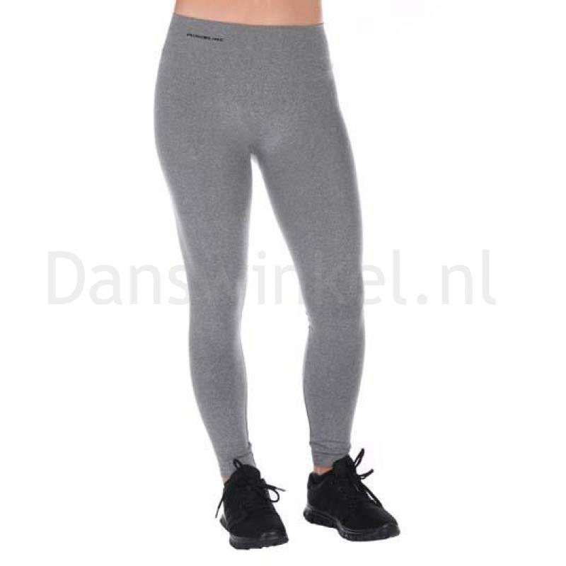 melange grijze sport legging