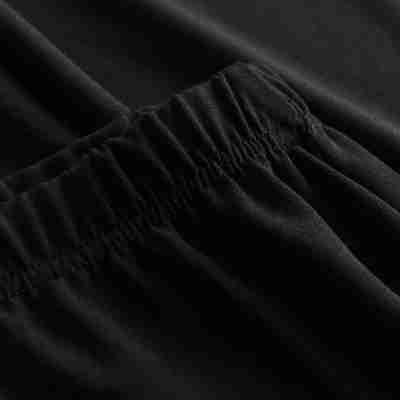 Rumpf RU3942 LORCA broek met hoge split zwart