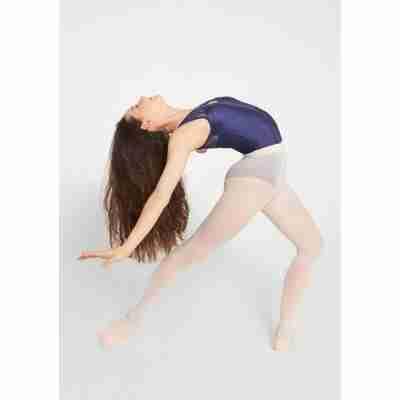 Dames balletpanty met voet Rumpf Eve 100