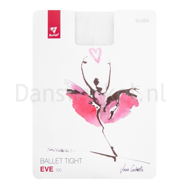 "Rumpf balletpanty ""Eve"" wit"