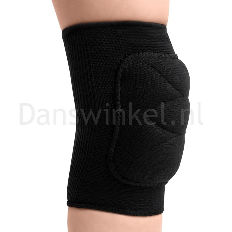 Rumpf zwarte Kniebeschermers voor dansen 215