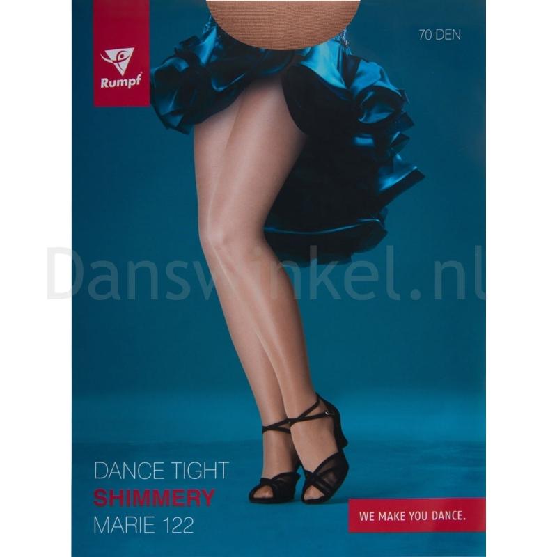 Rumpf glanspanty Marie donker huidskleur voor dansers