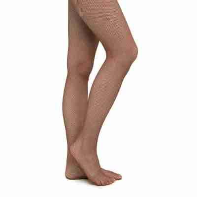 Rumpf balletpanty fishnet tight 111 brown