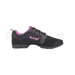 Rumpf Mojo Danssneakers Zwart/Pink