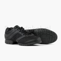 zwarte sneakers voor dansen rumpf zijkant