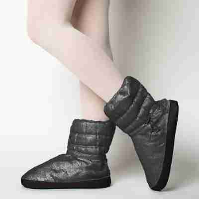Russian Pointe Ballet Booties Sparkling Collectie zwart