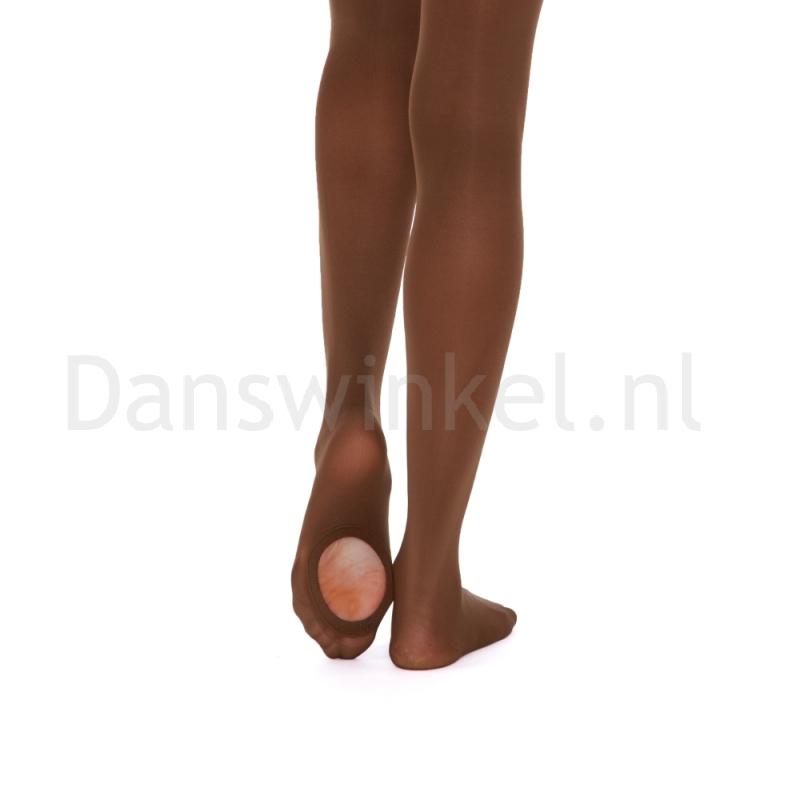 Russian Pointe Seamless Convertible dansPanty donker bruin