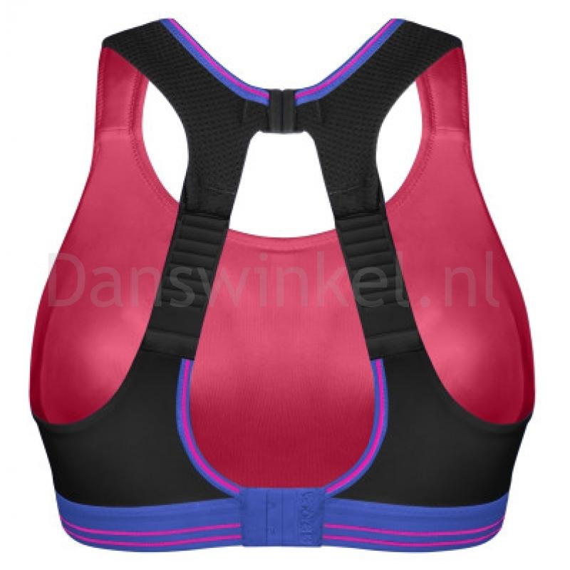 zwart-roze achterkant