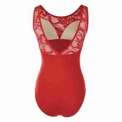 Sansha Balletpak Aylin rood achterkant