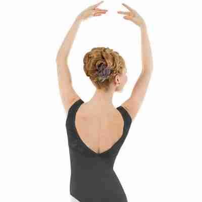 Sansha Balletpak Aylin zwart achterkant