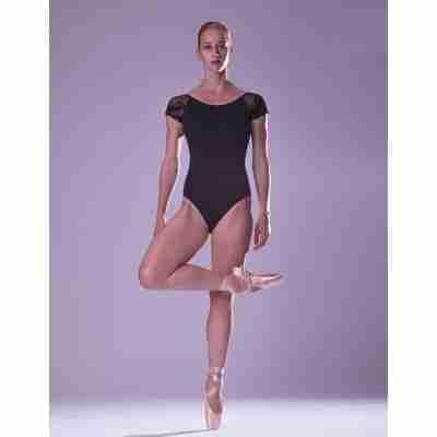 Sansha Edith Zwart Balletpak met Kant voor Dames