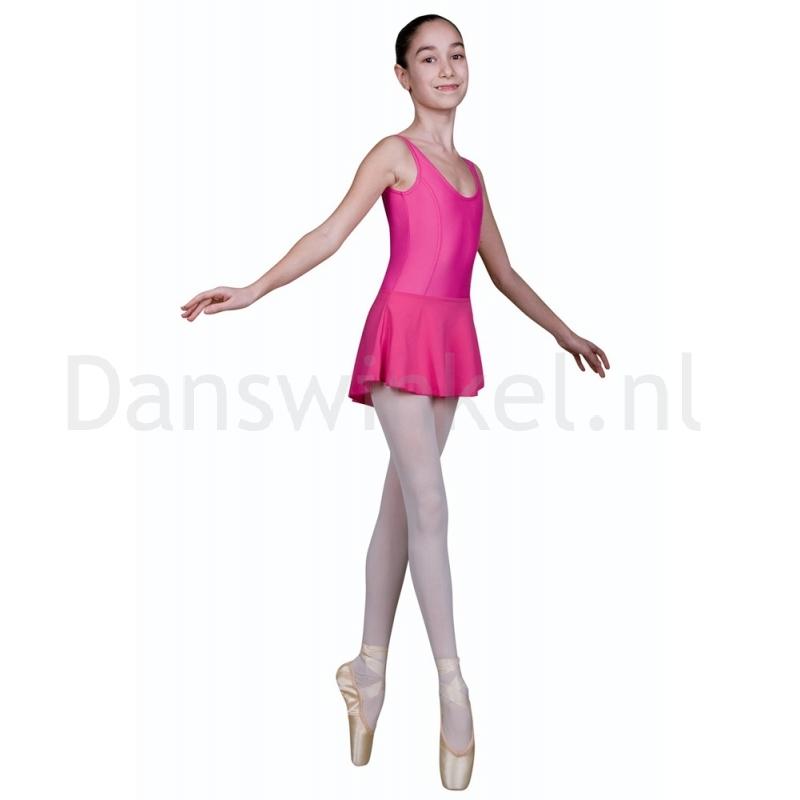 Sansha Fiona G516M Balletpak met Rokje Fuchsia voor Kinderen
