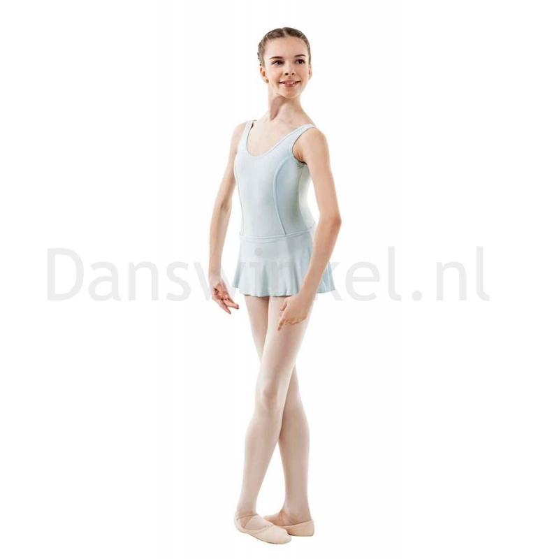 Sansha Fiona G516M Balletpak met Rokje Lichtblauw