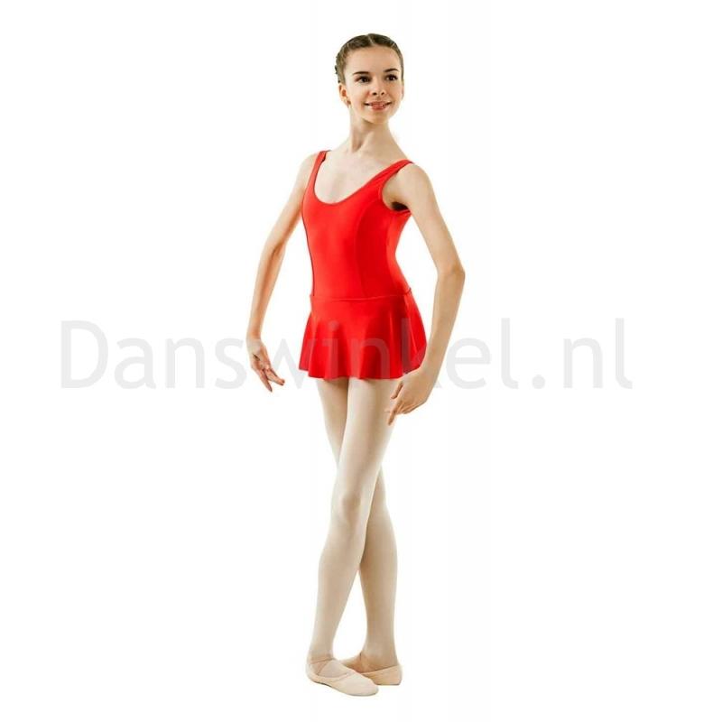 Sansha Fiona G516M Balletpak met Rokje Rood