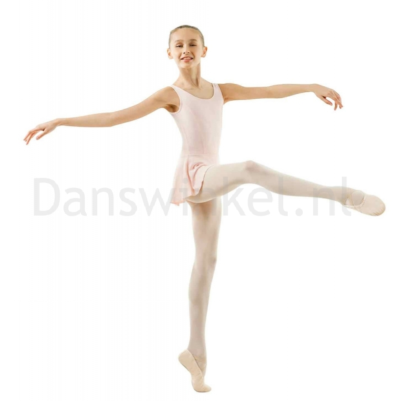 Sansha Fiona G516M Balletpak met Rokje Zalmroze