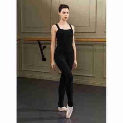 Sansha Zwart Warm-Up Pak voor Ballerina