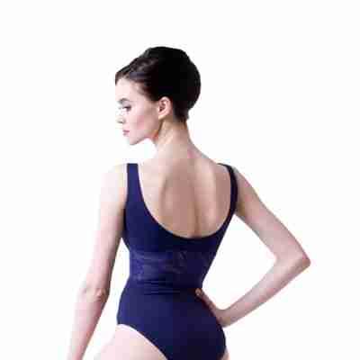 Sansha Kirsten Balletpak met Brede Bandjes en Taille van Gaas