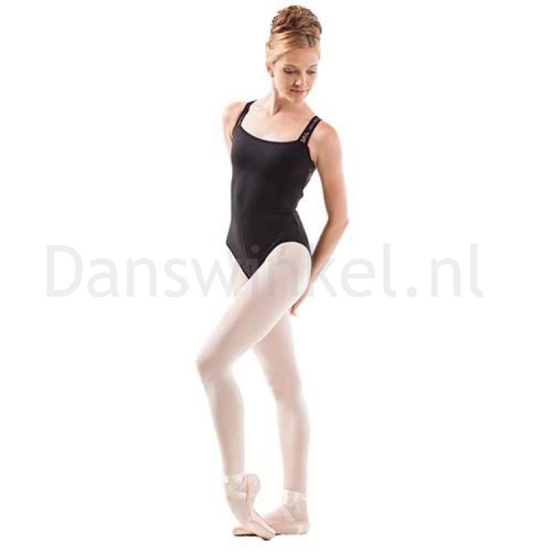 Sansha Balletpak Aecca Zwart Voorkant
