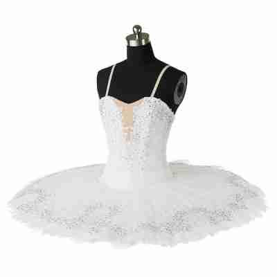 Sansha Diamant Romantische Witte tutu voor de Verhuur