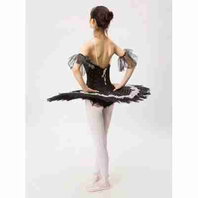 Sansha Black Swan Professionele Tutu Achterkant