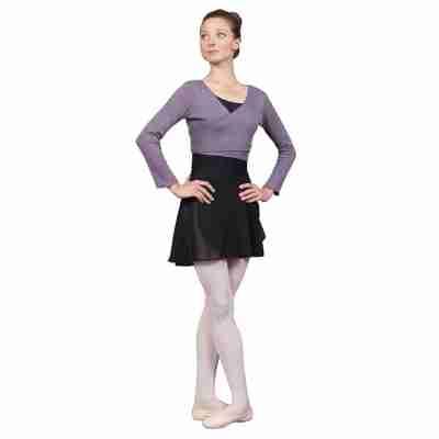 Sansha Balletvest voor Dames Polyester Paars Sansha Kym KH4003P
