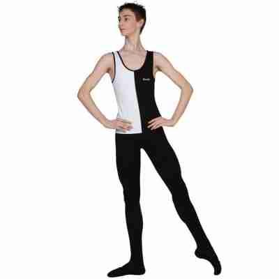 jonathan d031c sansha legging zwart voor heren ballet