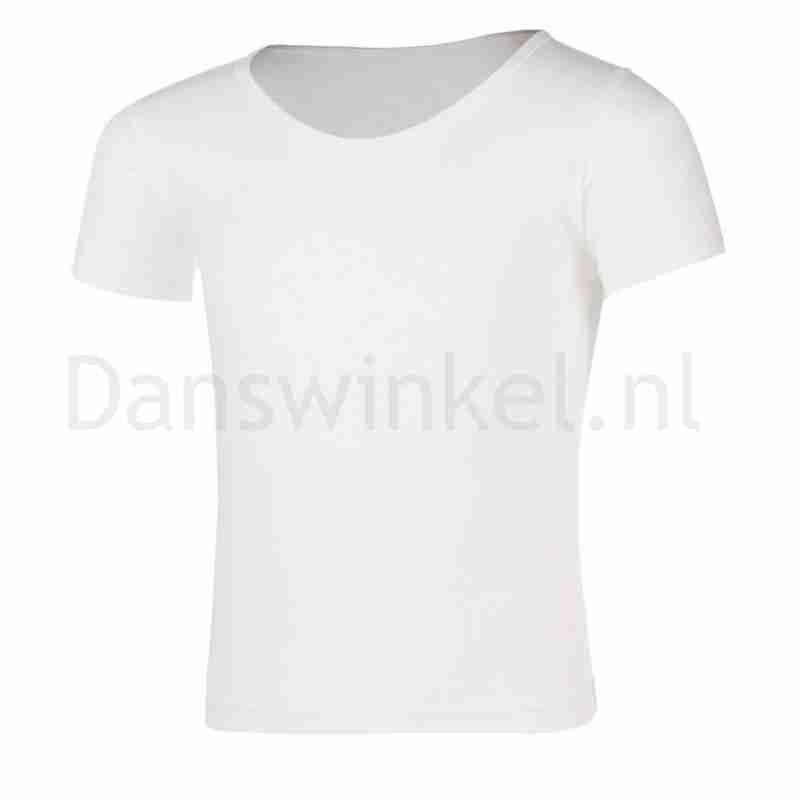 Sansha Santino Wit T-shirt Voor Dans