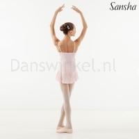 Sansha Aida G508M Balletpakje roze achterkant
