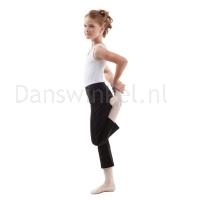 Sansha Y0159C zwarte korte jazzbroek voor kinderen