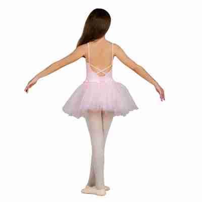 Sansha Faye Y1706C Roze Balletpak met Tutu voor Kinderen