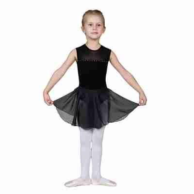 Sansha Zwarte Los Rokje voor Ballet Kinderen