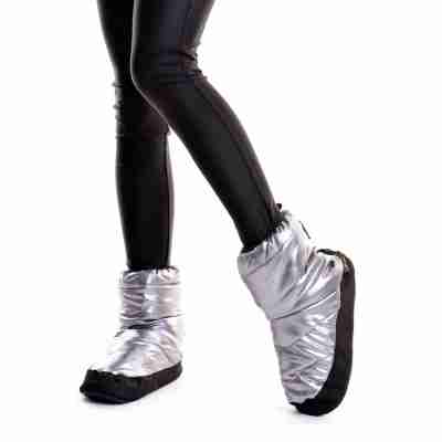 Sansha ballet Warm-up Bootie WOOD TIBET zilver