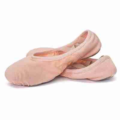 Sansha Havana 357X Microfiber Balletschoenen met Suede Splitzool