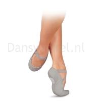Sansha Pro1C balletschoen grijs flexibel en zacht