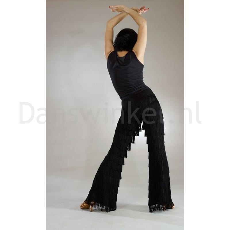 Santoria Agnes Latin Fringe Trousers TR4012