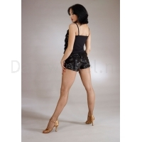 Santoria Cherise Petite Sequence Hot Pants TR4019