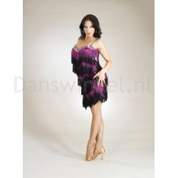Santoria Bellanca Latin Fringe Dress