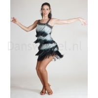 Santoria Atlantica Latin Fringe Dress DR7041