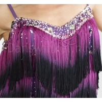 Santoria Bellanca Latin Fringe Dress