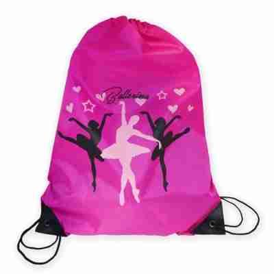 Alista Dancer Basic ballerina rugzakje roze gymtas