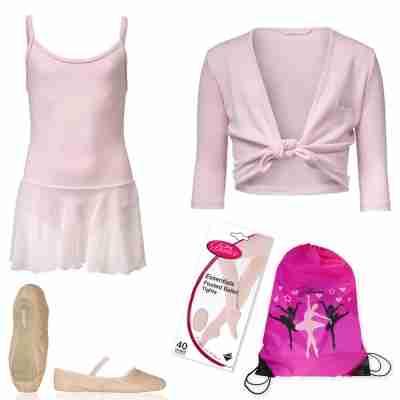 Alista Dancer Basics Set 6 Complete balletkleding set voor meisjes