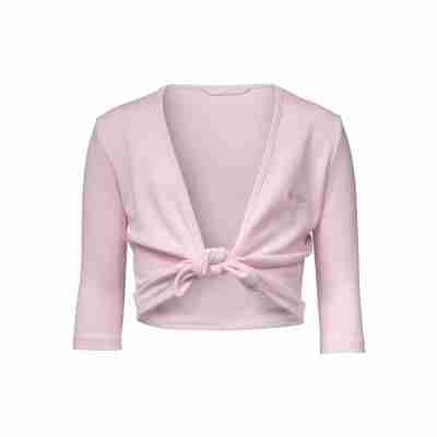 Papillon PK2051 roze balletvestje met driekwart mouw voor meisjes